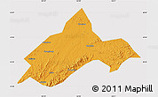 Political Map of Liuhe, cropped outside