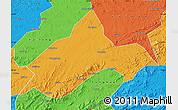 Political Map of Liuhe