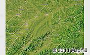 Satellite Map of Liuhe