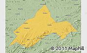 Savanna Style Map of Liuhe