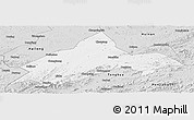 Silver Style Panoramic Map of Liuhe