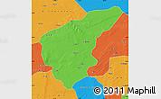 Political Map of Nong An
