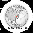 Outline Map of Jilin