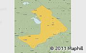 Savanna Style Map of Qiangorlos