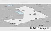 Gray Panoramic Map of Qiangorlos