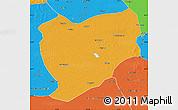 Political Map of Tongyu