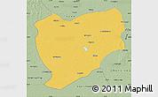 Savanna Style Map of Tongyu