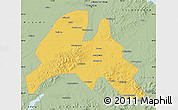 Savanna Style Map of Yitong