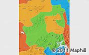 Political Map of Yongji