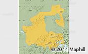 Savanna Style Map of Yongji