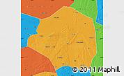 Political Map of Yushu