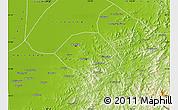 Physical Map of Anshan Shiqu