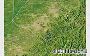 Satellite Map of Anshan Shiqu