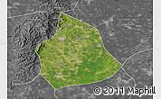 Satellite Map of Beizhen, desaturated