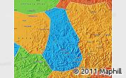 Political Map of Benxi Shiqu