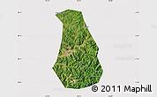 Satellite Map of Benxi Shiqu, cropped outside