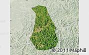 Satellite Map of Benxi Shiqu, lighten