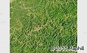 Satellite Map of Benxi Shiqu
