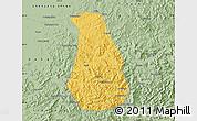 Savanna Style Map of Benxi Shiqu