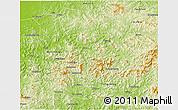 Benxi Liaoning China Maps - Benxi map