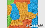Political Map of Benxi
