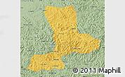 Savanna Style Map of Benxi