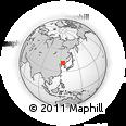 Outline Map of Benxi
