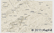Shaded Relief Panoramic Map of Chaoyang