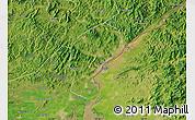 Satellite Map of Dandong Shiqu