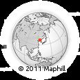 Outline Map of Dandong Shiqu