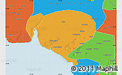 Political Map of Dawa