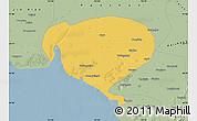 Savanna Style Map of Dawa