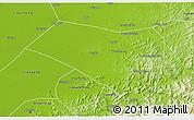 Physical 3D Map of Dengta