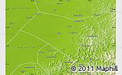 Physical Map of Dengta