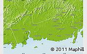 Physical Map of Donggou