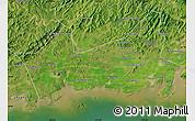 Satellite Map of Donggou