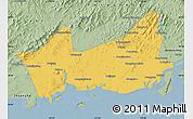 Savanna Style Map of Donggou