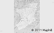 Silver Style Map of Fengcheng