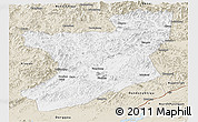 Classic Style Panoramic Map of Fengcheng