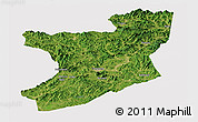 Satellite Panoramic Map of Fengcheng, cropped outside