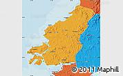 Political Map of Fu Xian
