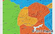 Political Map of Fushun Shiqu