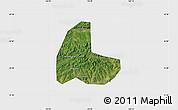 Satellite Map of Fushun Shiqu, single color outside