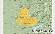 Savanna Style Map of Fushun Shiqu