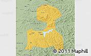 Savanna Style Map of Fushun