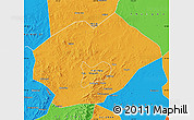 Political Map of Fuxin Mongolian Ac