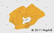 Political Map of Fuxin Mongolian Ac, single color outside