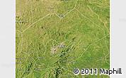 Satellite Map of Fuxin Mongolian Ac