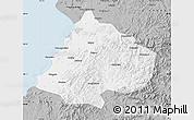 Gray Map of Gai Xian
