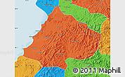 Political Map of Gai Xian